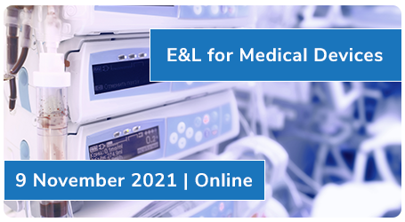 E&L for Medical Devices | 9 November 2021 | Online
