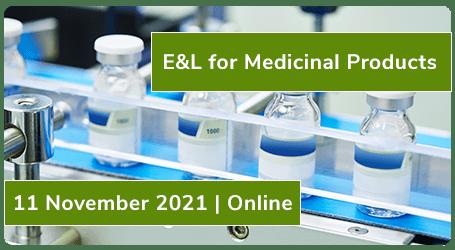E&L for Medicinal Products | 11 November 2021 | Online