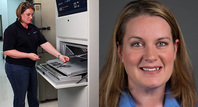 Amanda Cool is a project engineer focusing on dynamic mechanical analysis testing in the Smithers physical testing lab in Akron, Ohio.
