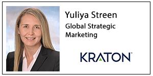 Yuliya Streen, Kraton Polymers